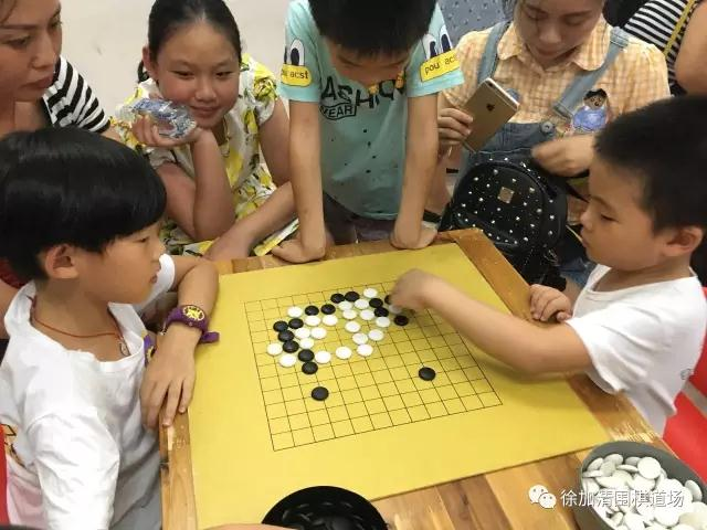 二, 学围棋能培养能力   很多小朋友对数字加减乘除感到枯燥无味